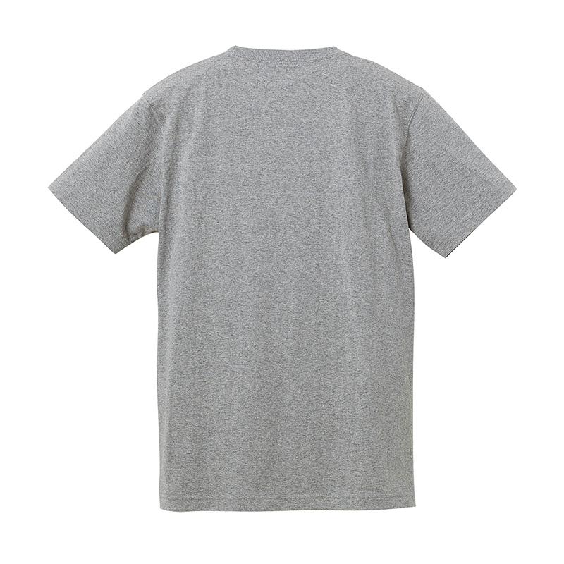 スーパーヘヴィーウェイトのポケットTシャツバック